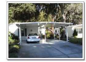 Carports Amp Patio Covers Mobile Home Carports In