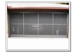 garage sliding screen doors
